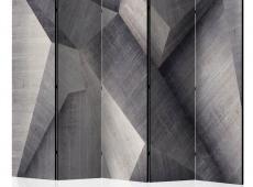 Paraván - Abstract concrete blocks II [Room Dividers]
